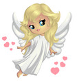 sweet little angel vector image