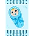 baby boy card 1 vector image vector image