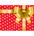 background gift box christmas vector image vector image