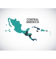 central america design vector image