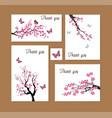 cherry thanks vector image