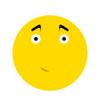 cute smiley icon vector image vector image