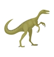 Dinosaur Gallimimus icon in cartoon style isolated vector image