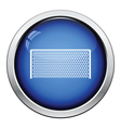 Icon of football gate vector image vector image