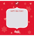 New Year Card1 vector image vector image