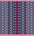 tribal seamless colorful geometric pattern vector image