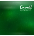 Abstract emerald background vector image
