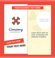 bones company brochure template busienss template vector image vector image