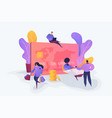 credit card creative concept vector image
