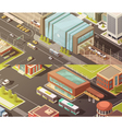 Government Buildings Isometric Banners Set vector image vector image
