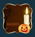 halloween background design vector image vector image