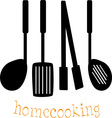 Home Cooking vector image vector image