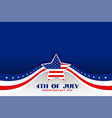 independence day 4th july patriotic background vector image vector image