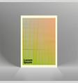 minimal covers design geometric halftone vector image vector image