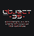 object 35 futuristic industrial display vector image