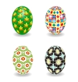 Set of Easter egg vector image vector image