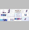 set of templates for website design vector image vector image