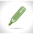 small thermometer icon Eps10 vector image