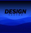 abstract futuristic landscape background design vector image