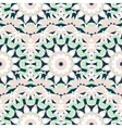 Boho chic colorful pattern vector image vector image