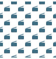 clapboard pattern vector image vector image