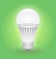 economical led light bulb save energy lamp vector image