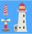 Lighthouses flat searchlight towers for