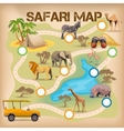 Safari Poster For Game vector image