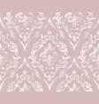 vintage flourish ornamented pattern vector image vector image