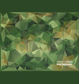 army military camouflage background made of vector image vector image