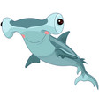 hummer shark vector image vector image