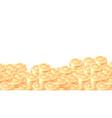 piles gold coins cartoon frame or border vector image