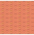 Red brick wall vector image vector image