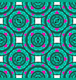 Seamless geometric pattern in the oriental style vector image