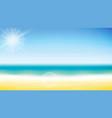 summer background summer vector image vector image