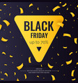 black friday sale abstract background with vector image