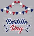 bastille day design vector image vector image