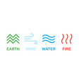 elements nature earth wind water fire nature