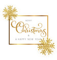 glitter christmas and new year background vector image vector image