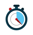 stopwatch fast delivery symbol vector image