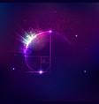 cosmology vector image vector image
