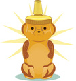 Honey Bear vector image vector image