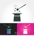 magician isolate icon vector image
