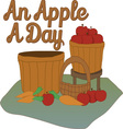 Apple a Day vector image vector image