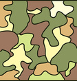 army camouflage background vector image vector image