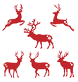 Christmas deer stags vector | Price: 1 Credit (USD $1)
