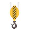 crane hook icon vector image vector image