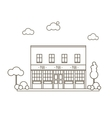 Old Pub Building vector image