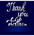 Paper background with lettering thank you Father vector image vector image