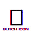 tablet icon flat vector image vector image